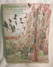 Old REMINGTON 1973 Sporting Firearms Ammo Catalog