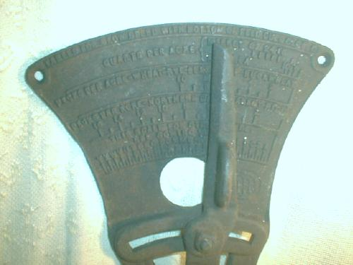 Old IHC Meter Wheat Rye Flax Oat Planter - ANTIQUE Cast Iron