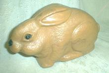 Wind-up Toy RABBIT Hard Plastic - Old 1940 's - WORKS!
