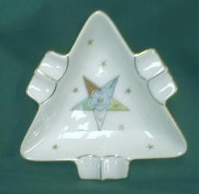 Order Eastern Star OES Old Lefton Ashtray Souvenir