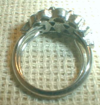 AVON Amethyst Ring Vintage Costume Jewelry  Size 6