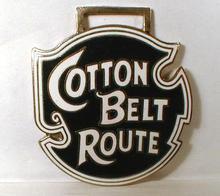 Railroad WATCH FOB - Cotton Belt Route