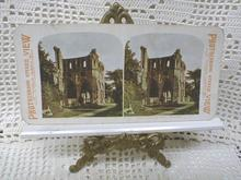 Stereo View Card - DRYBURGH ABBEY, SCOTLAND