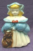 GOLDILOCKS & BEAR COOKIE JAR - Brush McCoy