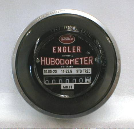 New Old Stock STEMCO-ENGLER Hubodometer w/box