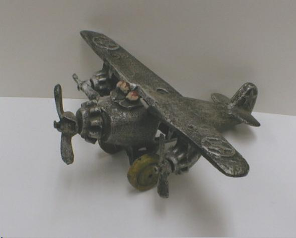 CAST IRON Airplane - NICE!