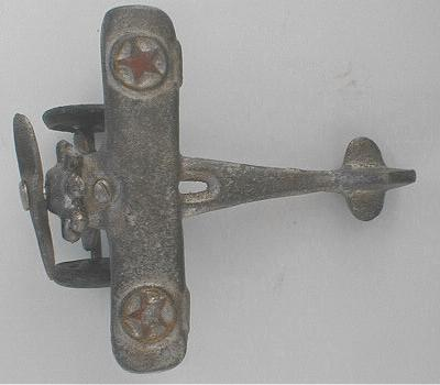 1920's Style CAST IRON Airplane - Authentic Model