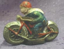 1920's Style CAST IRON Motorcycle