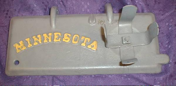 Cast Iron Toolbox Cover - Minnesota
