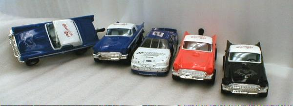 Diecast RUSTY WALLACE Race Car plus 4 More