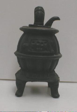CAST IRON Potbelly Stove - Toy - Doll -Display