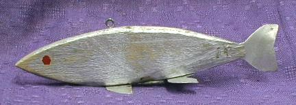OLD! Wood Wooden Fish Fishing Lure decoy