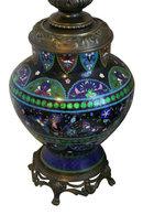 Cloisonne Lamp