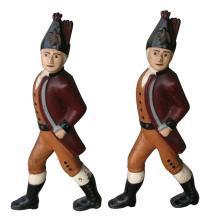 Hessian Soldier Andirons