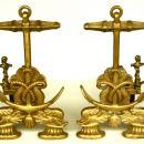 Anchor Andirons