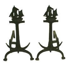 Nautical Andirons