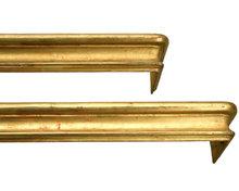 Gold Valances