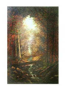 White Mountains Oil Painting