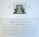 Cadillac Sales Folder, 1934 Convertible Coupe
