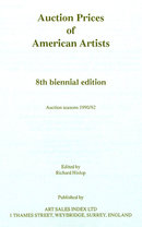 Auction Prices of American Artists, 1990-1992