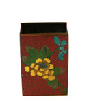 Cloisonne Match Book Holder