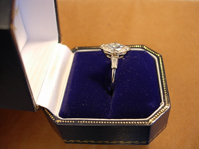 Exquisite Circa 1930s Platinum and Diamond