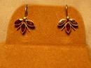 Really Pretty Victorian Garnet Earrings