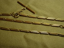 Circa 1900 Man's Fancy Link 14KT Yellow Gold