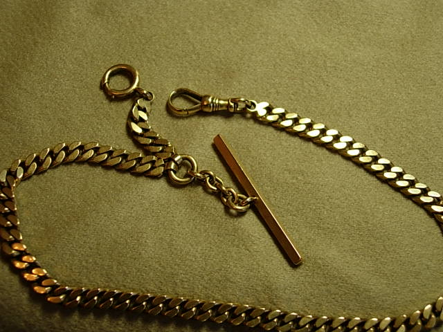 Man's Heavy Circa 1900 14kt Yellow Gold
