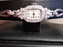 Pretty Circa 1930 Lady's Diamond and White Gold