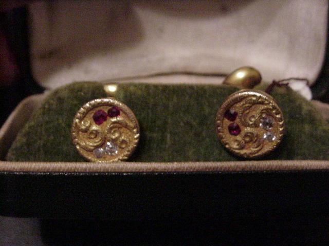 Victorian 14Kt Yellow  Gold  Diamond
