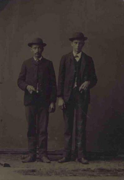 Two Men (tintype)
