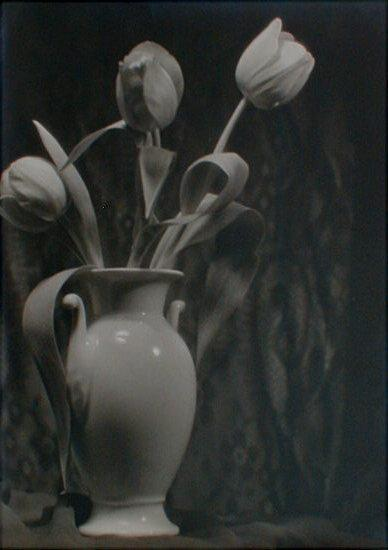 Tulips and Vase Still Life