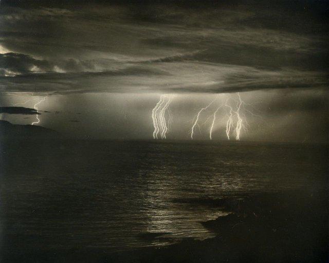 Lightning Over Monterey Bay