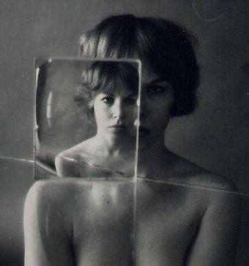 Ruth Bernhard: Billy with Glass 1 (small mat)