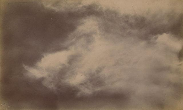 vintage scientific cloud studies - 5 photographs