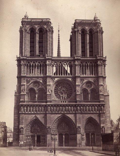 E. Ziegler Studio: Notre Dame Cathedral, Paris