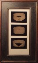 David Sokosh: Collars for David and Peter - Triptych, Brooklyn - tintype