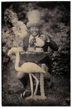 David Sokosh: Mad Hatter, Southington  - tintype