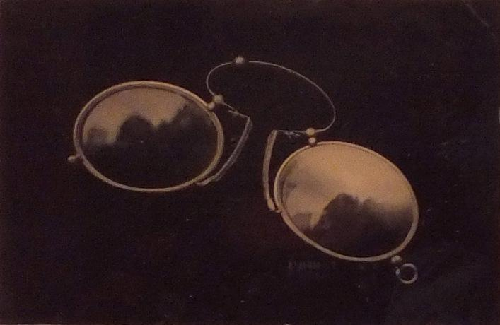 David Sokosh: Pince-Nez, Brooklyn - tintype