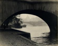 William C. Odiorne: Under the Pont Royal, Paris