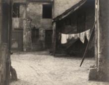 William C. Odiorne: street scene, Paris