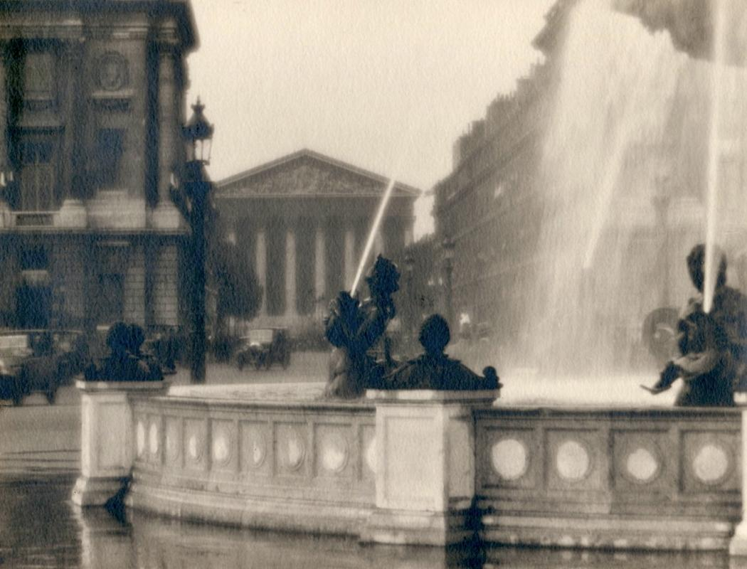 William C. Odiorne: Fountain, Place de la Concorde, Paris