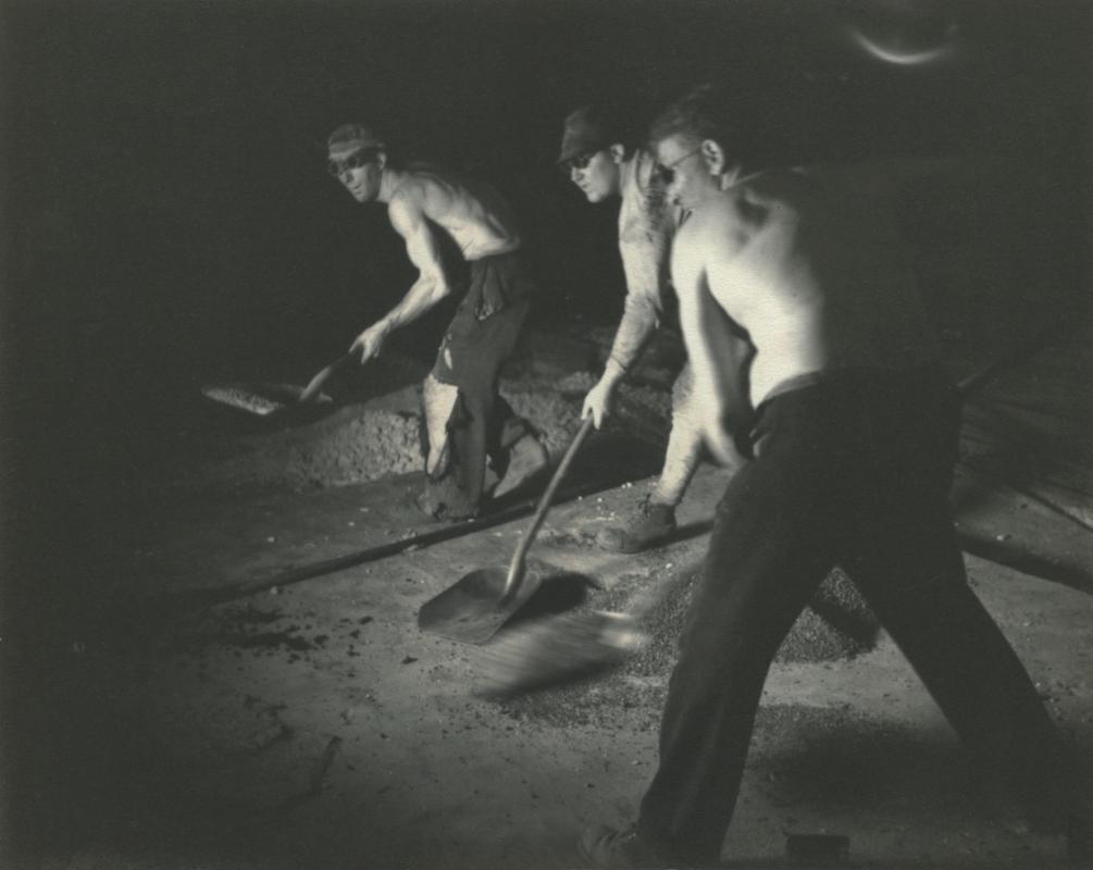Street workers