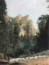 Pillsbury: Three Brothers, Merced River, Yosemite
