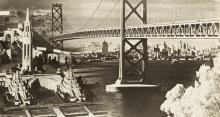 San Francisco Bay Bridge and GGIE montage