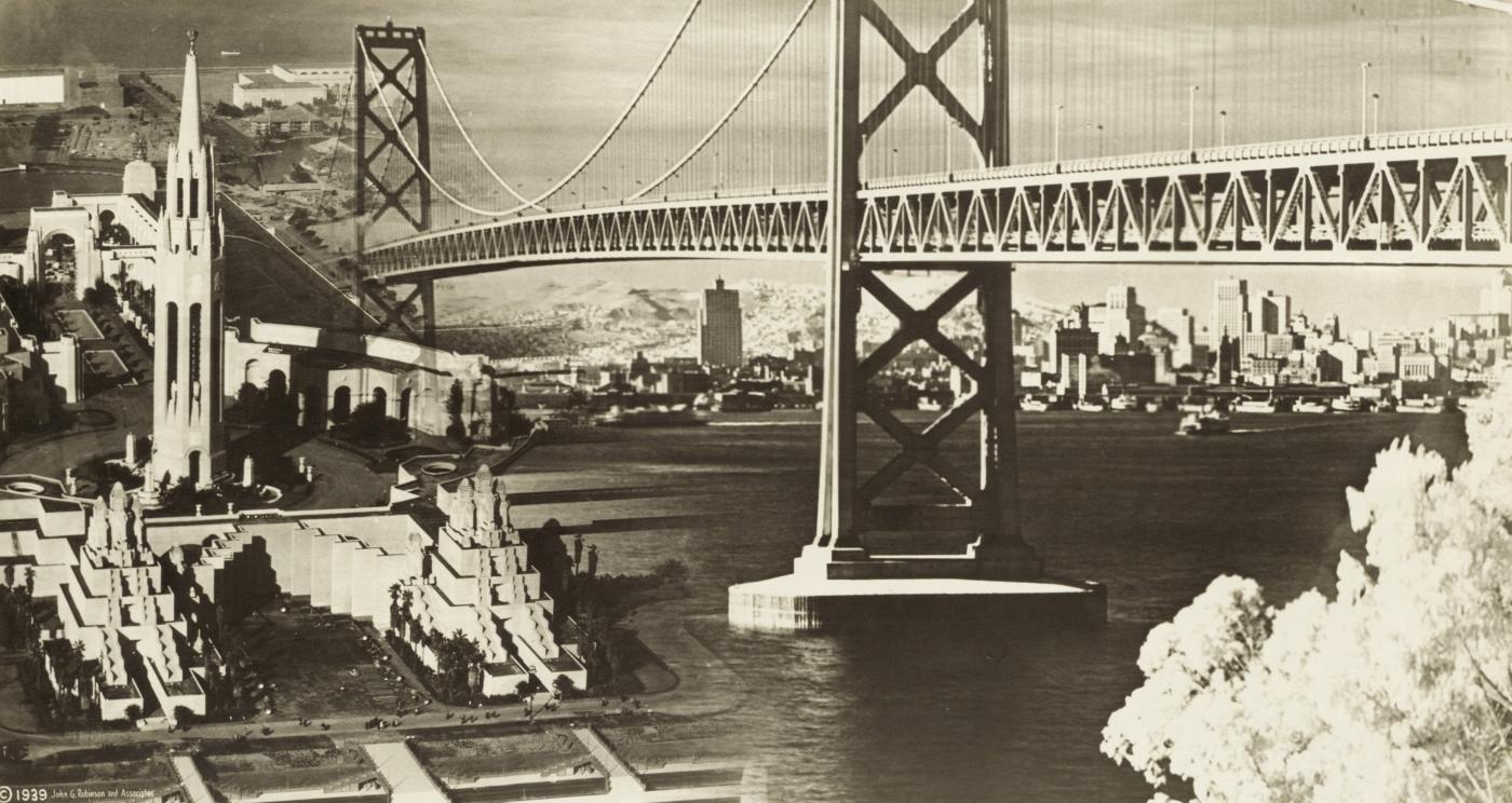 San Francisco Bay Bridge and GGIE montage