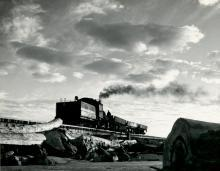 Steam Train, Newport, Oregon