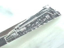 Reading Railroad Train Engine Tie Clip