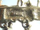 AJC Cat(s) Pin, Bar with dangles, Great Piece!
